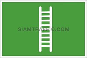 SA 18 ขนาด 30 x 45 ซม. Safe Condition Sign ป้ายบันได Stair