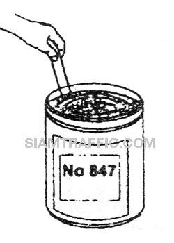 วิธีการติดตั้ง 3 เอ็ม แผ่นสะท้อนแสงสก๊อตช์ไลท์ คอนฟอร์มเมเบิ้ล รุ่น 6800 : ใช้น้ำยารองพื้นไพรเมอร์เมอร์ 4448