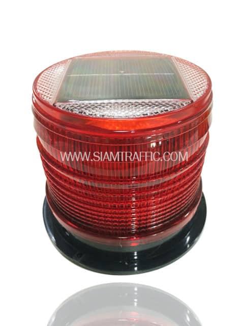 ไฟแว๊บใช้พลังงานแสงอาทิตย์สีแดง