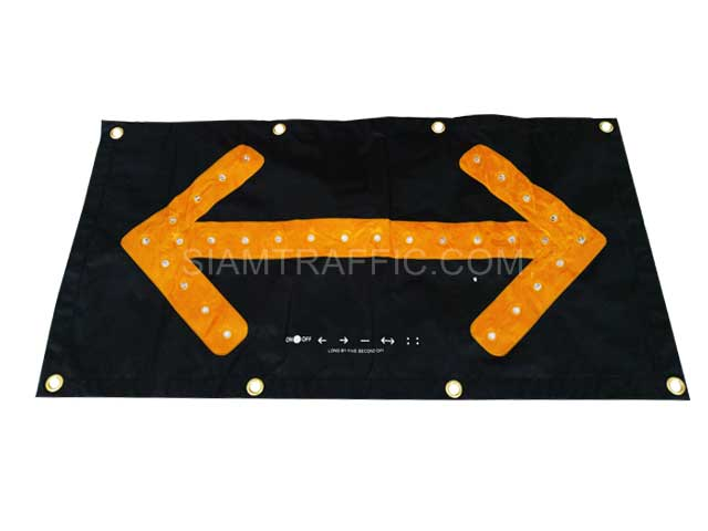 led sign board arrow