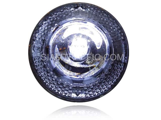 ลูกแก้วแบบแก้วใสมีไฟกระพริบใช้พลังงานแสงอาทิตย์