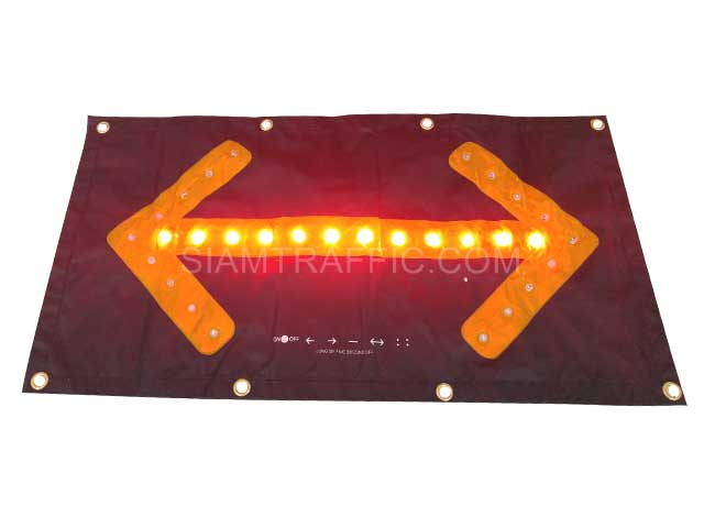 led traffic arrow sign
