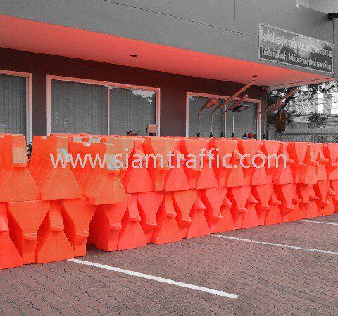 Water barrier แบริเออร์พลาสติก ยาว 1.0 เมตร จำนวน 200 ใบ