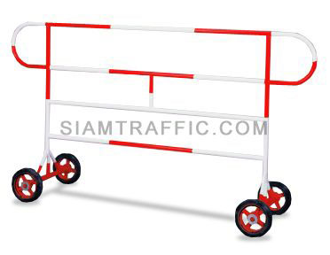 Barrier : Type A Barrier (With Wheels) 2 meter length x 110 cm. height x 50 cm. width