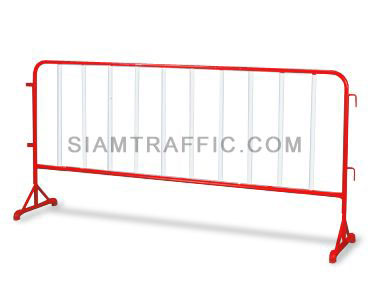 Steel Barrier : Type B Barrier (Without Wheels) 2 meter length x 100 cm. height x 50 cm. width