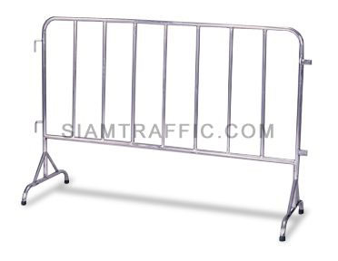 Traffic Barrier : Type B Barrier (Stainless Steel) 1, 1.5 and 2 meter length x 110 cm. height x 50 cm. width