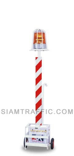 Road Barriers : Flashers Stand of Bird Cage Type L
