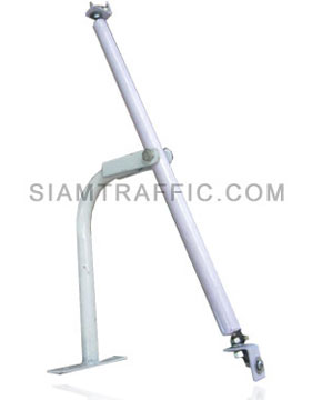 Traffic Mirror Holding Clamp