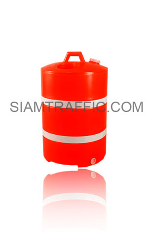 Round shaped water barrier