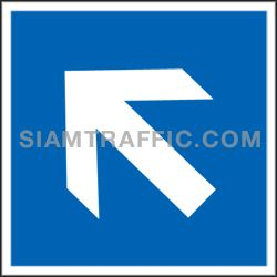 General Sign : Safety Sign SAF 18 size 30 x 30 cm.