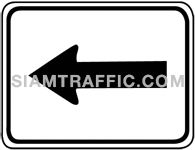 Directional arrow sign 3.1-3