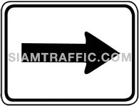 Directional arrow sign 3.1-4