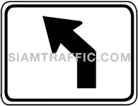 Directional arrow traffic sign 3.1-13