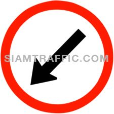 "raffic Sign Manufacturers : ""Keep Left"" Drivers of vehicles must drive to the left of the sign."