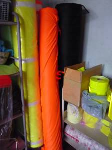 Reflective cloth for safety vest