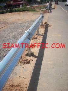 Installation of guard rail