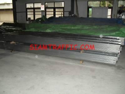 W Beam guard rail