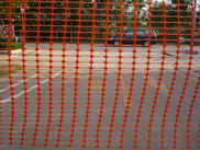 Plastic Barrier Fence