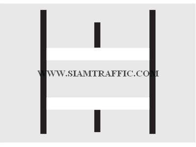 Road Painting : Pedestrian cross line
