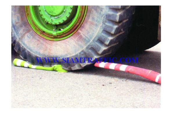 Traffic Pole (Tumbler), Delineators Main Pole, Rebouncable Pole