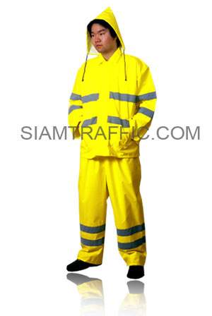 STF Rain Wear Type C : Suit and Pant : light green