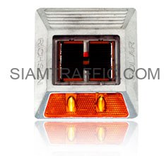 Solar Road Stud with LEDs flashing light