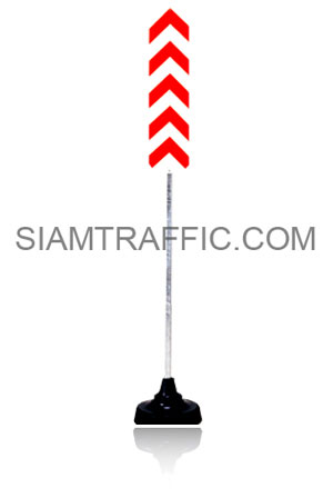 Sign Stand Large Size with Traffic Sign or Safety Sign