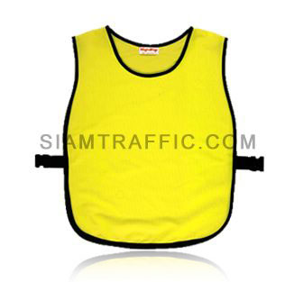Reflective safety vest : Full color-less cover with side opening (SWD), using snap locks or sliding belt. Free size.