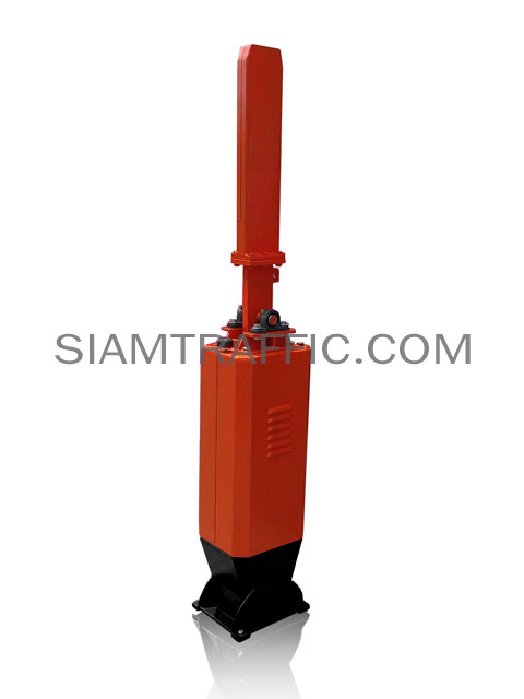 Boom barrier manual red-white