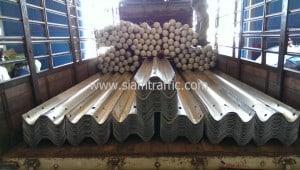 Guard rails Nan Province