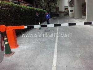 Manual barrier at Somhansar Hotel