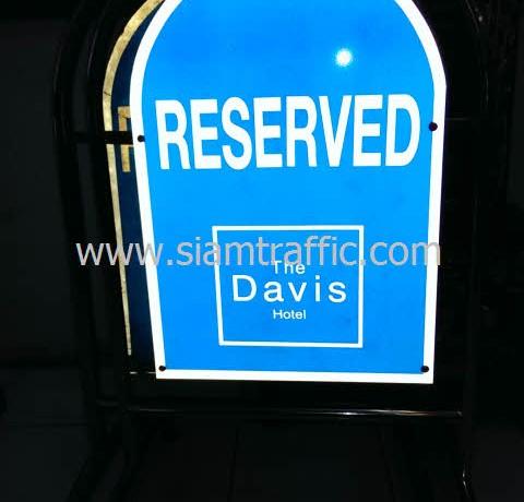 แผงกั้นสแตนเลสโรงแรมเดอะ เดวิส แบงคอก