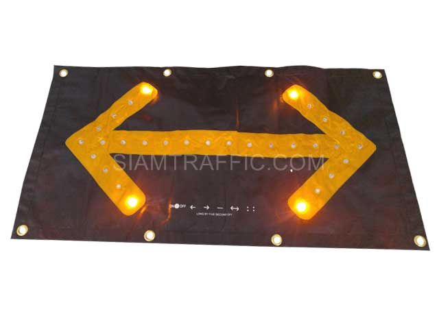 roll up led arrow board
