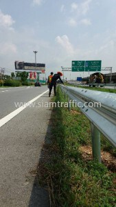 Guardrail Intercity Motorway Maintenance District