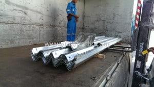 Rail guard export to Lao People's Democratic Republic