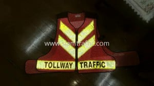 Reflective vest Don Muang Tollway Public Company Limited