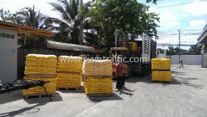 Thermoplastic road line marking materials export to Cambodia
