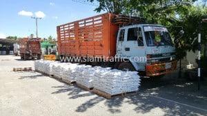 Thermoplastic road marking materials Kamphaeng Phet Province