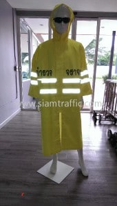 Traffic raincoat Toyota Buzz