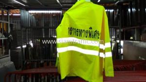 High quality raincoat expressway authority of Thailand
