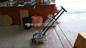 Road marking line equipment and thermoplastic materials Chonburi