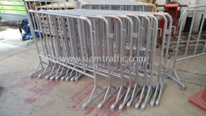 Road safety steel mobile barrier Central World