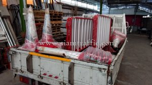 Crowd control barriers Rangsit Plaza Company Limited