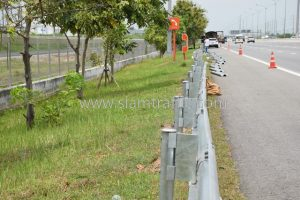 Guardrail DWG.NO.RS-603,604,605,606 Intercity Motorway No. 7 Bang Pakong to Nong Ree