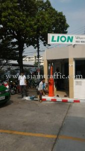 Manual barrier gate Lion Corporation Thailand Rama 3 Road