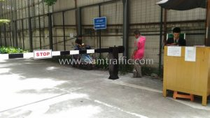 Parking gate barrier Som Hansar Company Limited