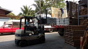Reflective thermoplastic paint export to Cambodia