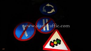 Traffic sign export to Vientiane Lao PDR
