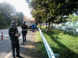guardrail ทางหลวงหมายเลข 4 ตอนควบคุม 0401 ตอน ห้วยชินสีห์-ปากท่อ