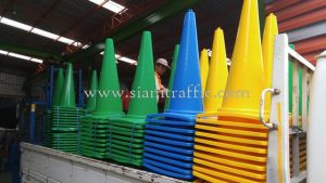 Road traffic cones A.P. Honda